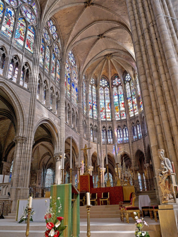The Medieval Cathedral Of Light And Stone