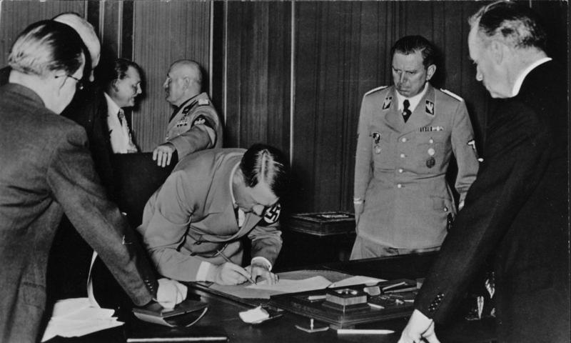 The 1938 Munich Agreement A Peace For Our Time Facade