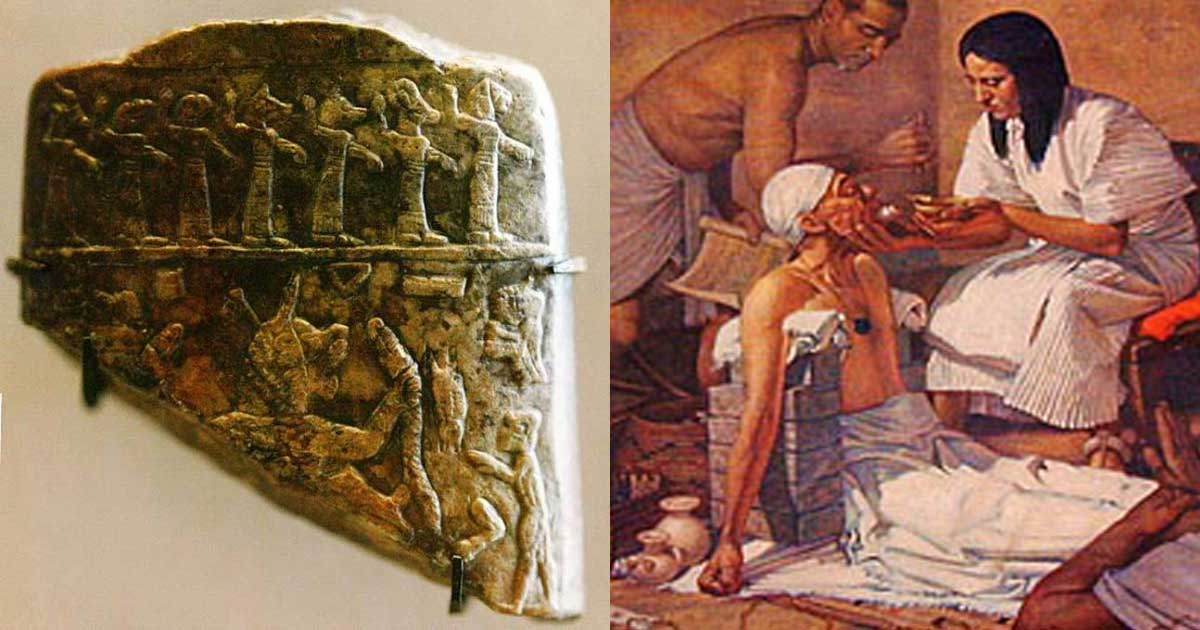 Health Care In Ancient Mesopotamia