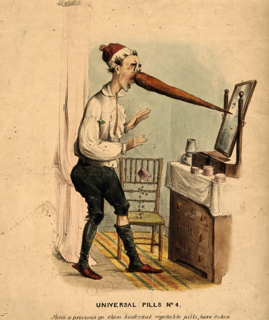 Graphic Battles of Pharmacy: 19th-Century Medicine Confronts