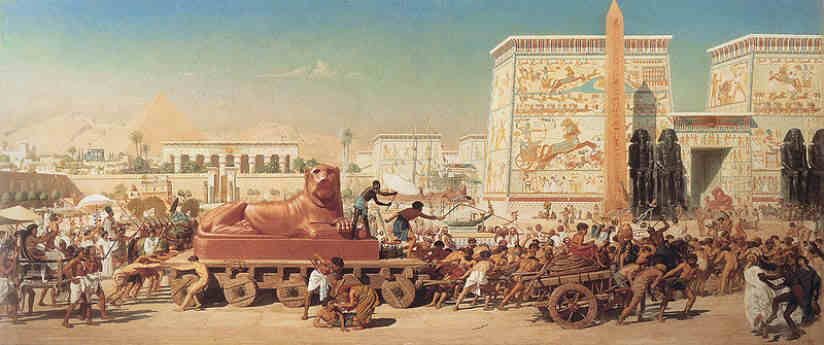 The Location Of Cities In Ancient Egypt