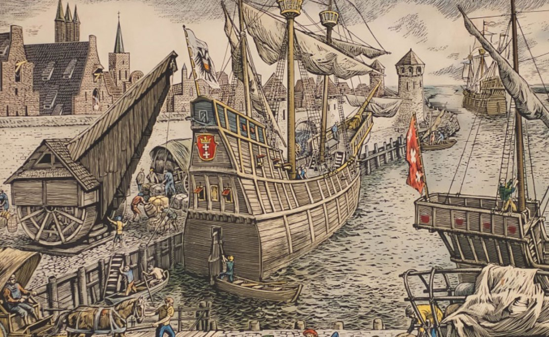 The Hanseatic League: Medieval Trade and Immigration in Europe