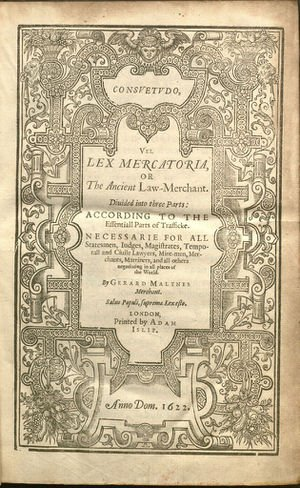 The Medieval Law Merchant: The Tyranny of a Construct