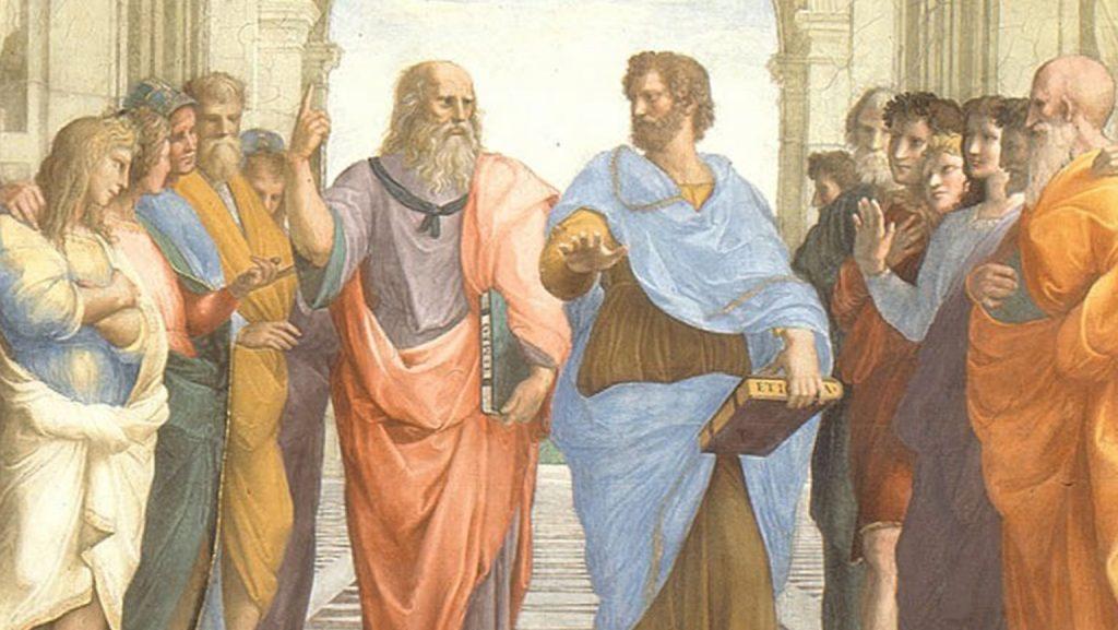 plato vs aristotle art