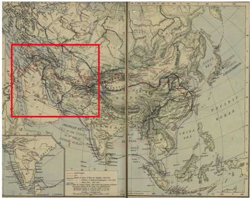 Safavid Trade during the 17th Century: Iran's Transit Economy on map of ancient iran, map of ancient medina, map of ancient persepolis, map of ancient anatolia, map of ancient roman republic, map of ancient mesopotamia, map of ancient persia, map of ancient constantinople, map of ancient babylon,