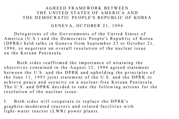 A History of North Korean Nuclear Negotiations, 1985-2019