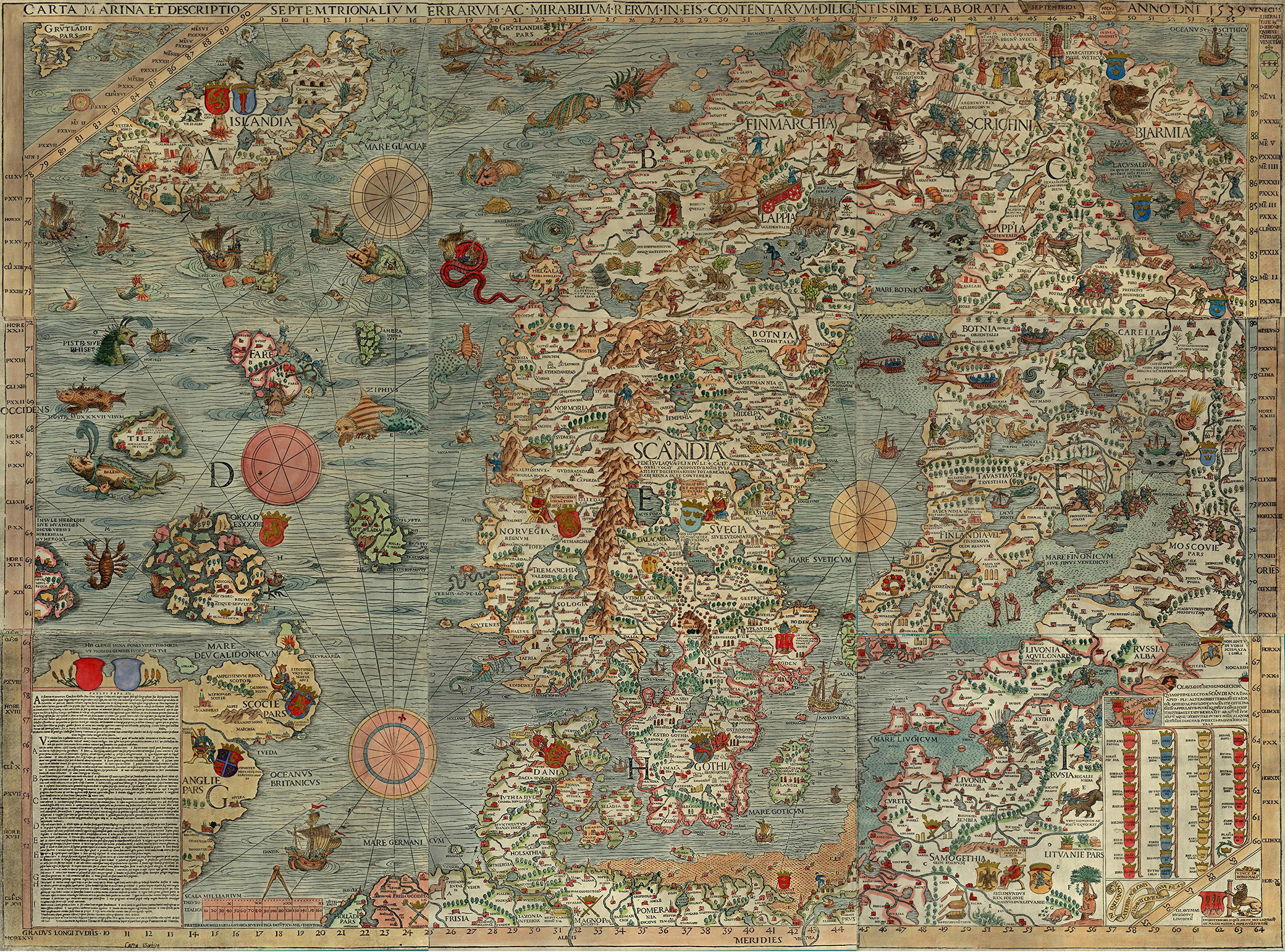 Mapping the Oceans in the Age of Discovery