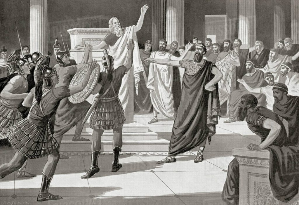 Ancient Athens History Brewminate Image