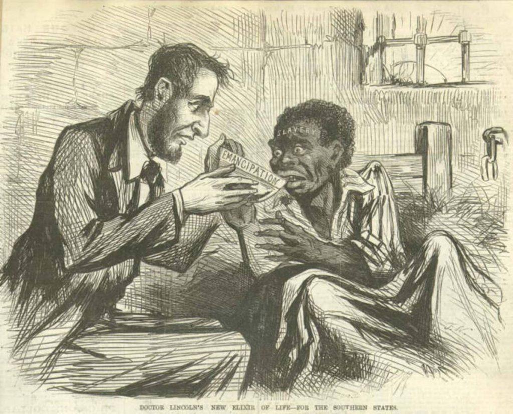 Abraham Lincoln The Railsplitter US History Civil War Real Canvas Print