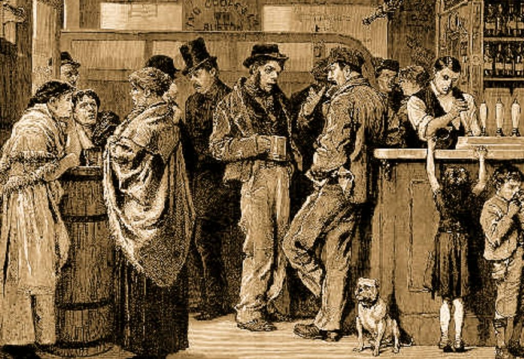 ALCOHOLIC DRUNKARD THE SUNDAY LIQUOR LAW CONTENTED MIND DRUNK ALCOHOLISM