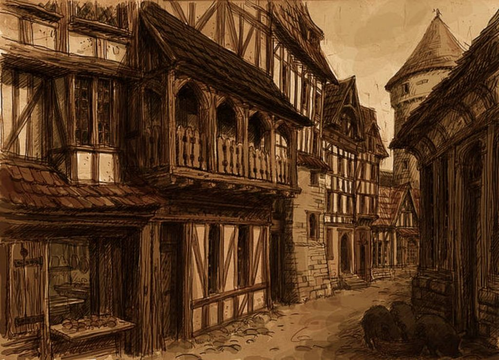 Life in Medieval Towns and Villages – Brewminate
